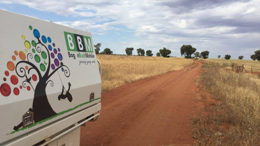 Bogan Bush Mobile service help mental wellbeing.