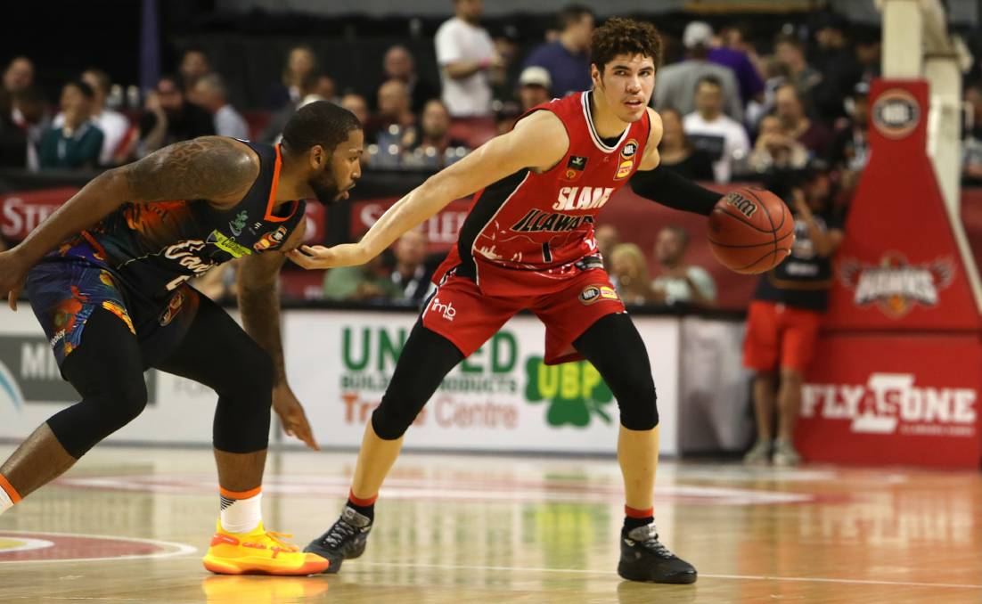 Take me on: LaMelo Ball. Picture: Sylvia Liber